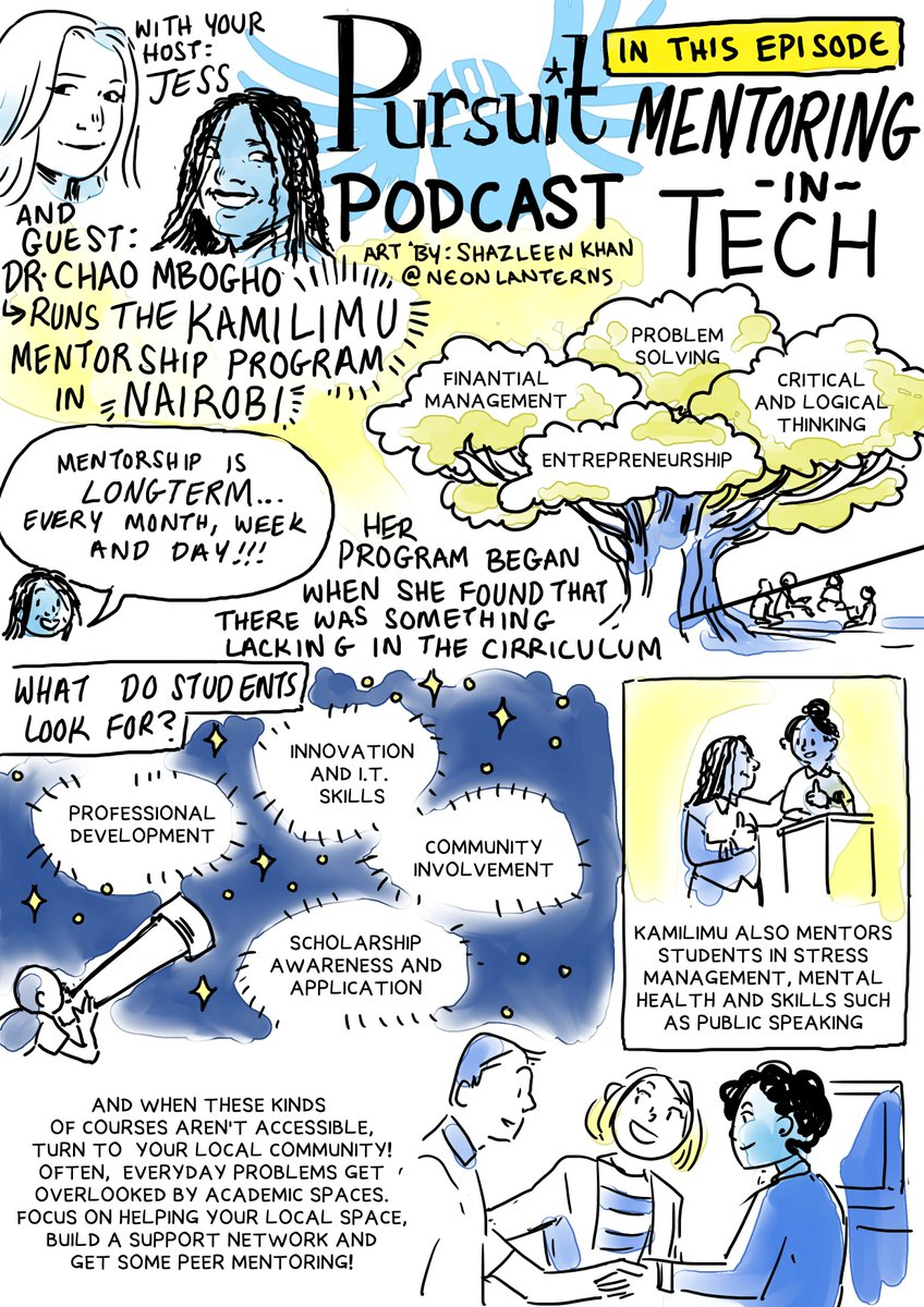 Student Stress Is Educations Overlooked >> Pursuit Podcast On Twitter We Spoke To Chao Mbogho About