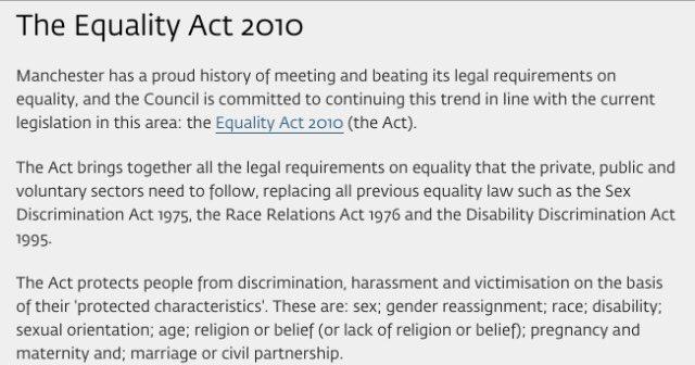 Sexual orientation discrimination act 1975