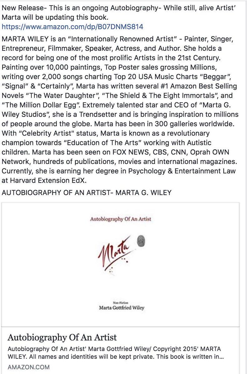 Marta Wiley on Twitter: