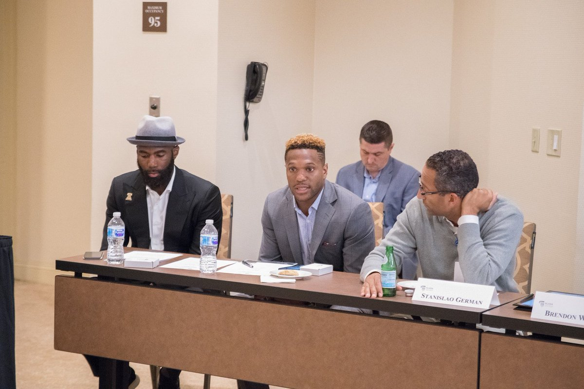 In case you missed it, NLADA and several chief defenders had a great discussion on #BailReform with @playercoalition members @MalcolmJenkins , @JOEL9ONE and @Rodney_McLeod4 . We are looking forward to our continued partnership!