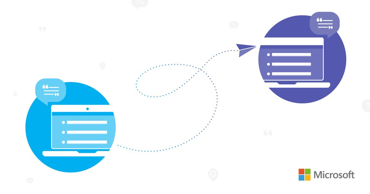 Soar to Microsoft Teams and discover a new way to collaborate. Check out this updated roadmap for the latest information: http://msft.social/6GvgJg