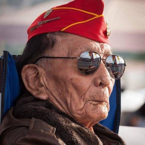 Yesterday, Navajo Code Talker Samuel Tom Holiday passed away at 94 years old.  Holiday, one of the last surviving Code Talkers from WWII, joined the Corps at 19 and became part of a legendary group of Native Americans who encoded messages in the Navajo language.   Semper Fi