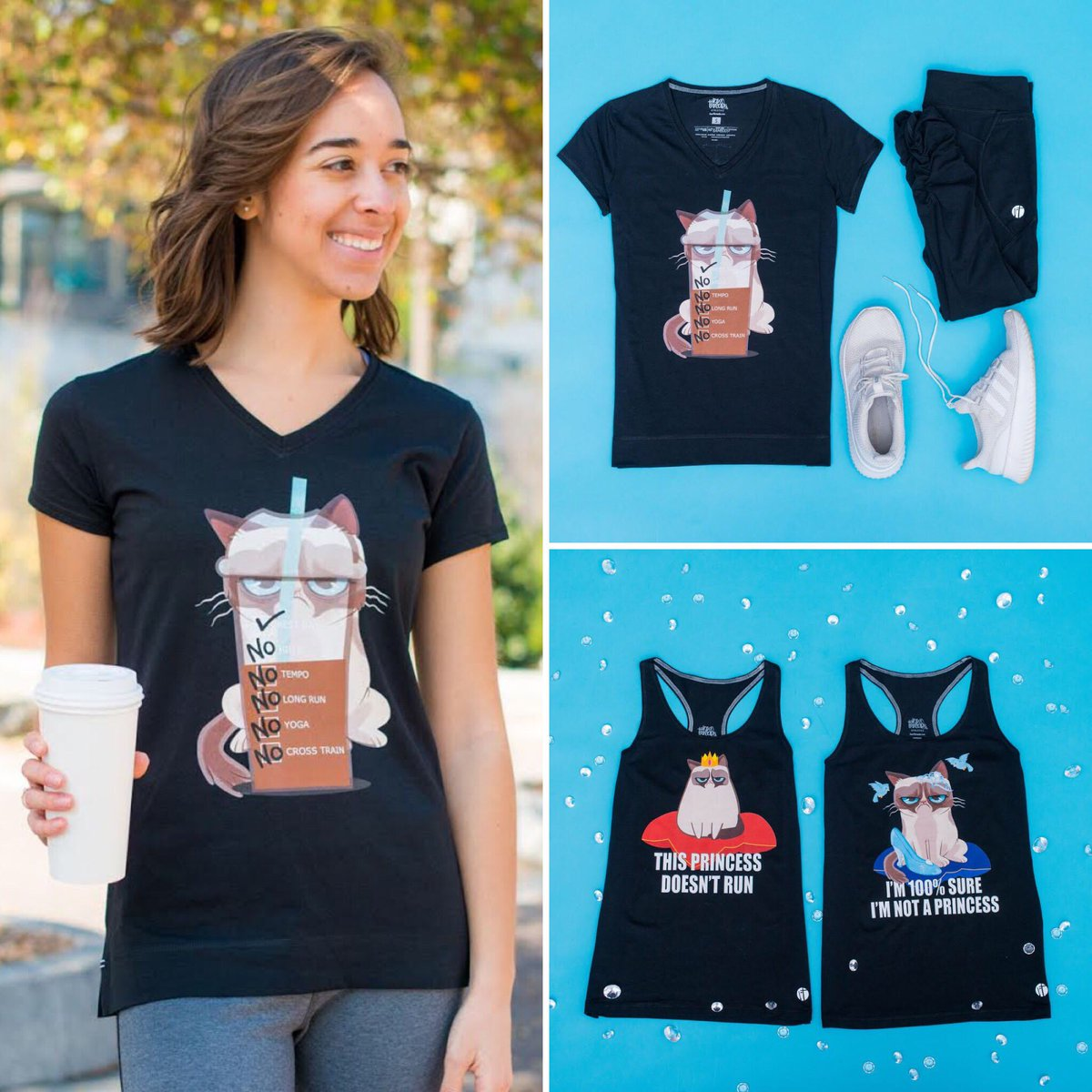 It's a terrible Spring into Summer Running Sale @raw_threads Use the code: GRUMPY to take 30% off all styles and fabrics of their Grumpy Cat designs. rawthreads.com/collections/gr…