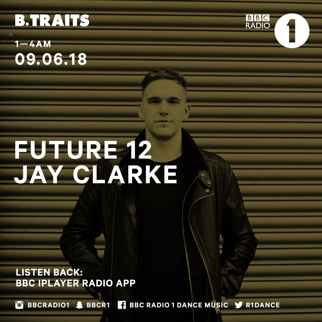 #ICYMI - Listen back to @jayclarke_uk on a tribal techno tip in his latest Future 12 mix for @btraits #technotuesday  https://t.co/h3NiSsXpBR https://t.co/rRYrFbz9wP