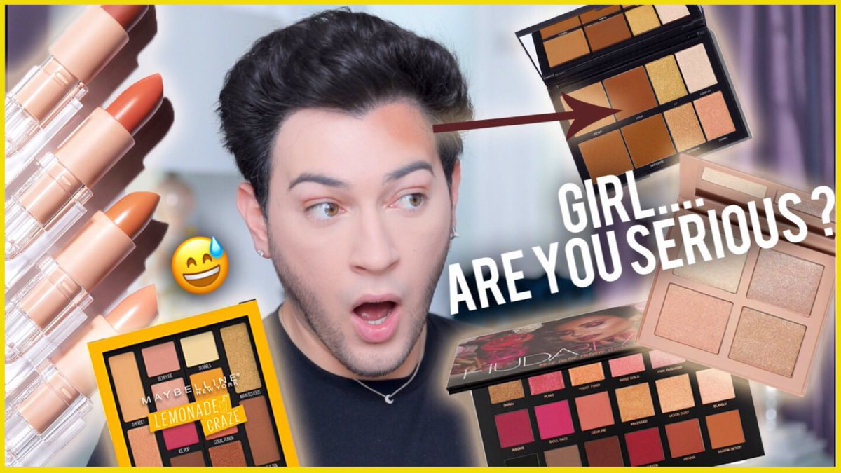TESTING NEW OVER HYPED AF MAKEUP!!!! KKW BEAUTY, HUDA BEAUTY, MAYBELLINE, ETC! youtu.be/LWQQ1zbrPzQ honey we went in!!!!!
