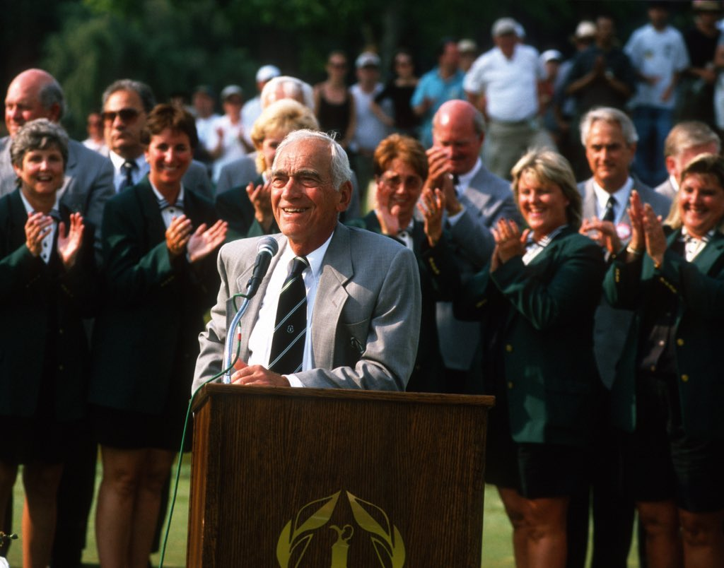 Remembering Pandel Savic today. Longtime chairman of #theMemorial and one of the founding members at Muirfield Village Golf Club. You will be dearly missed Pandel! bit.ly/2HJyqki