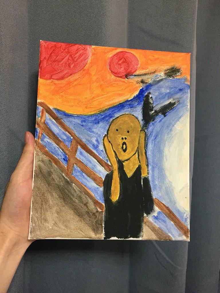 意外に可愛い絵wヤフオクに40万円で出品されていた絵画を300円で即落札できた人w