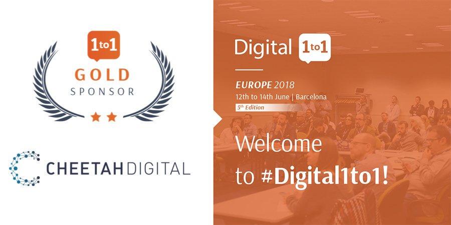 [EVENT] Es un placer parar Cheetah Digital estar presente en el #Digital1to1 del @ClubEcommerceEU como sponsor oficial del 12 al 14 junio en Barcelona. 🇪🇸🇪🇺 https://t.co/WUH7A8ZjWj