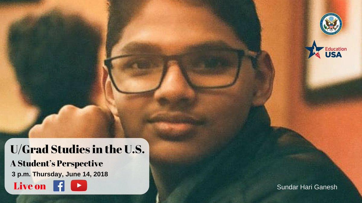 US Consulate Chennai on Twitter: