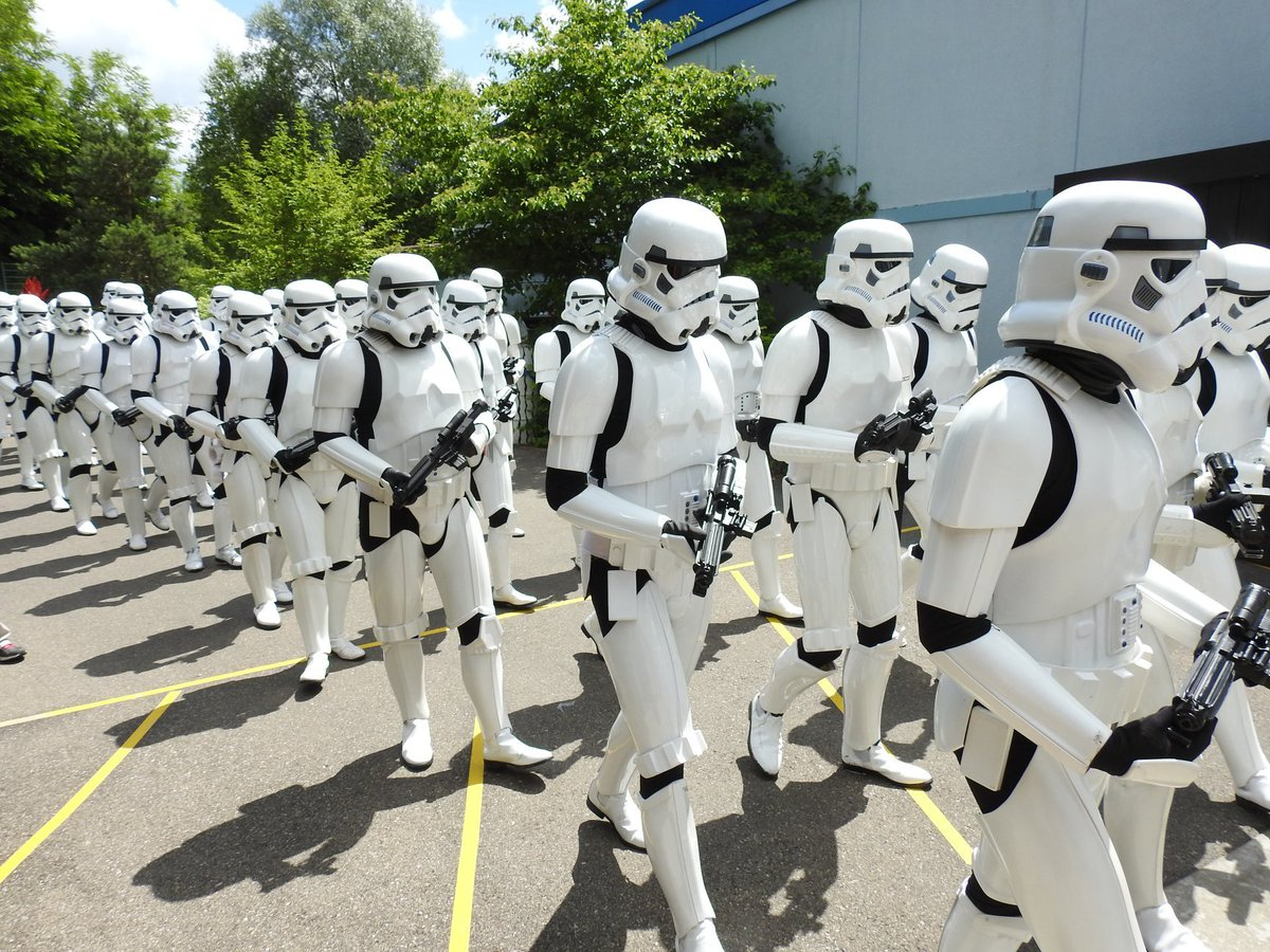 Stormtroopers Marching