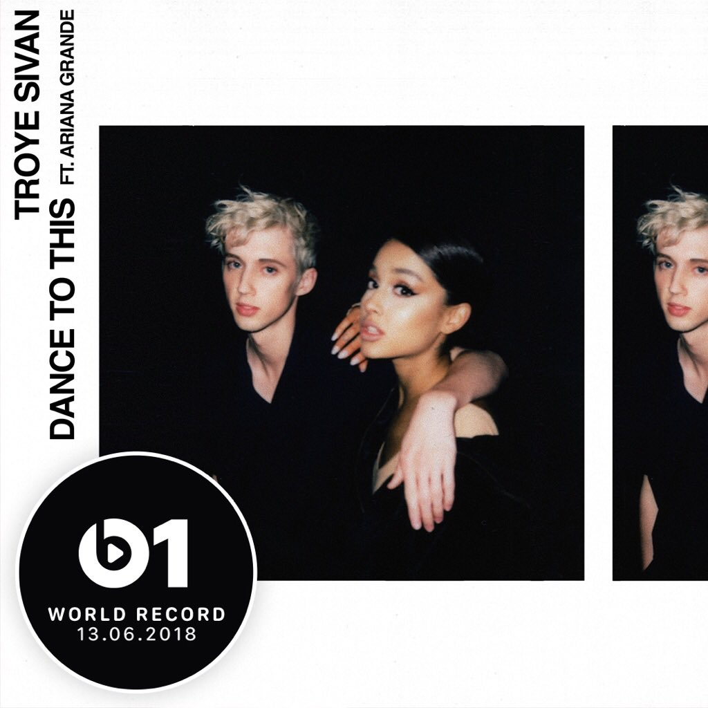 TUNE IN TOMORROW AT 9 AM PT FOR @Beats1 WORLD RECORD WITH @ZaneLowe 🕺🏼💃🏻🌺