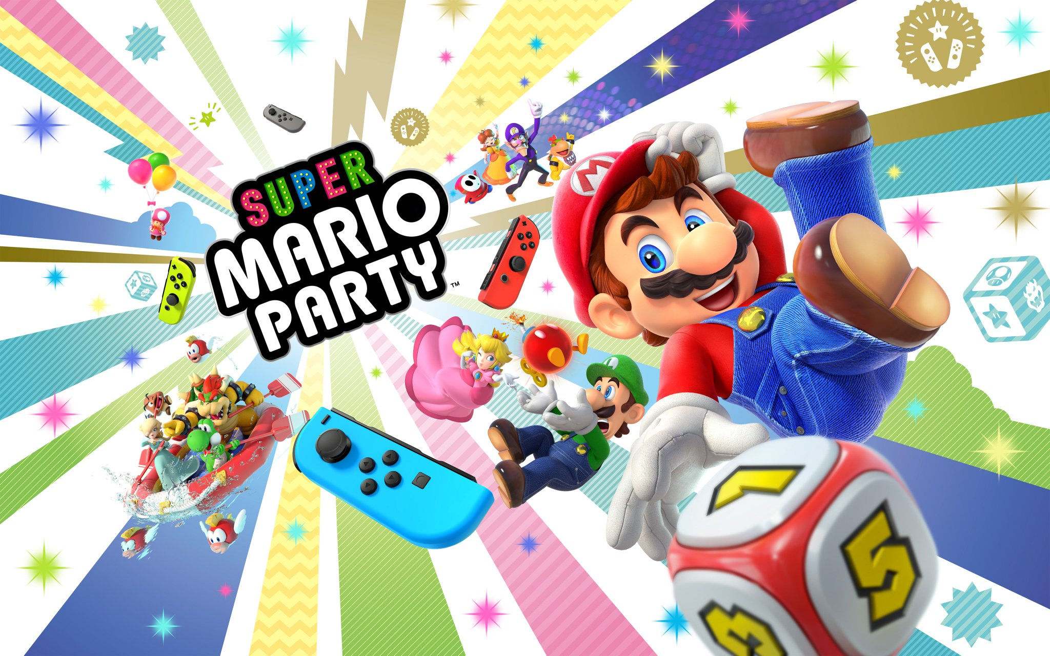 Get the party started when Super #MarioParty comes to #NintendoSwitch on 10/5! https://t.co/bXYB1aredQ