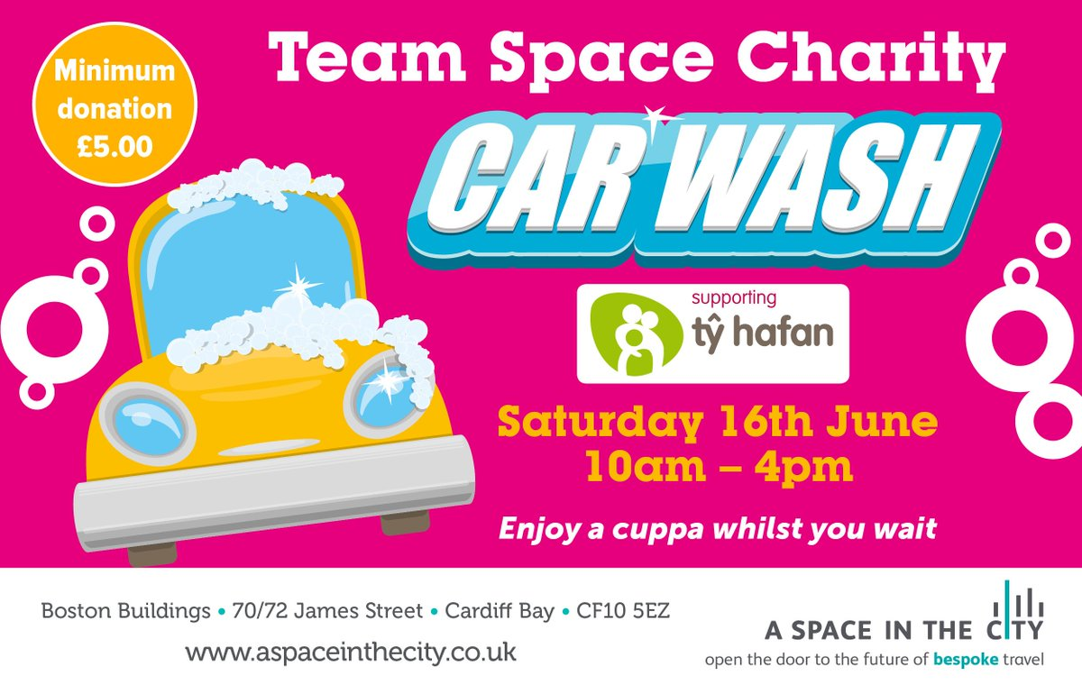A space in the city on twitter fed up of cleaning the car yourself a space in the city on twitter fed up of cleaning the car yourself come along to our charity car wash this saturday solutioingenieria