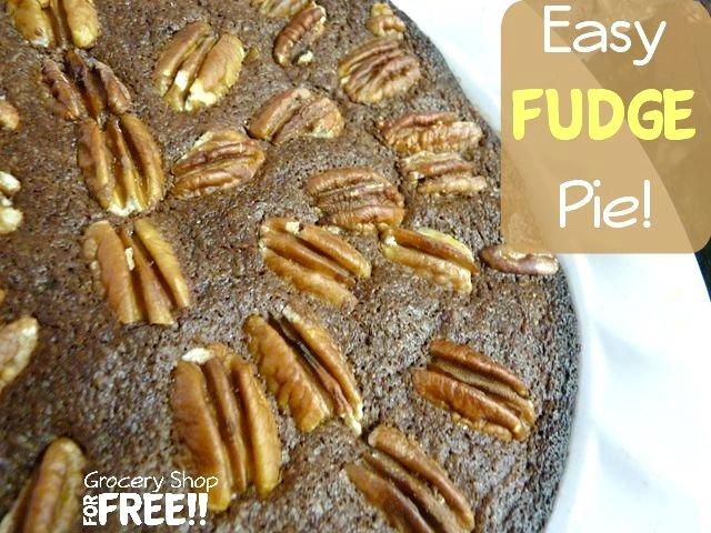 Easy Fudge Pie Recipe!      #dessert #easyrecipe #yummy #chocolate #recipe #food #treat https://t.co/jV5c4un5x4