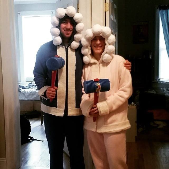 ice climbers are coming back to super smash bros in honor of this amazing occasion id like to share this picture of the best halloween costume ive ever