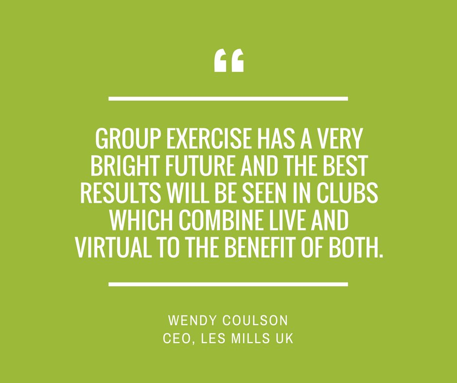 Image for Want to know where GroupX tech is headed for the world's leading fitness providers? We've been speaking to some to find out! Our series begins with @lesmillsUK CEO Wendy Coulson, who spoke to us at last month's @elevatearena. Read her insights here: https