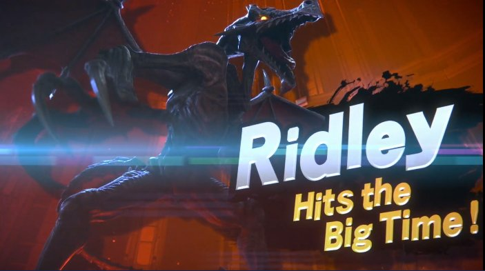 HE'S NOT TOO BIG! Ridley is coming to #Smash! #E32018 https://t.co/9gcJcxM5Tf
