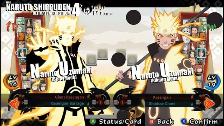 download naruto ultimate ninja for ppsspp