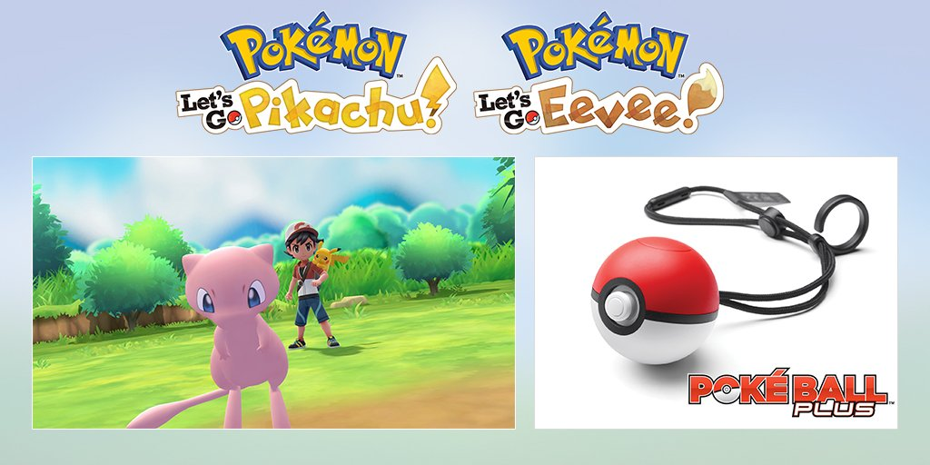 Mew, the Mythical Pokémon, is included with every Poké Ball Plus accessory.