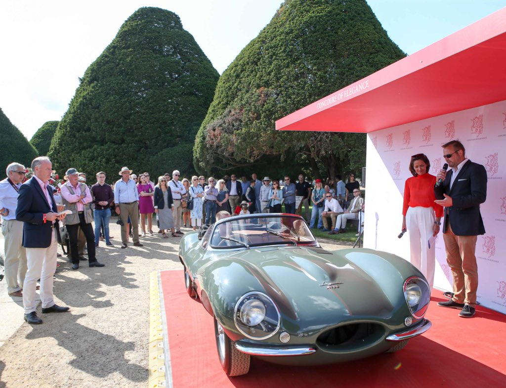 RT @ConcoursUK The truly stunning @Jaguar XKSS at Hampton Court Palace last year - a true classic