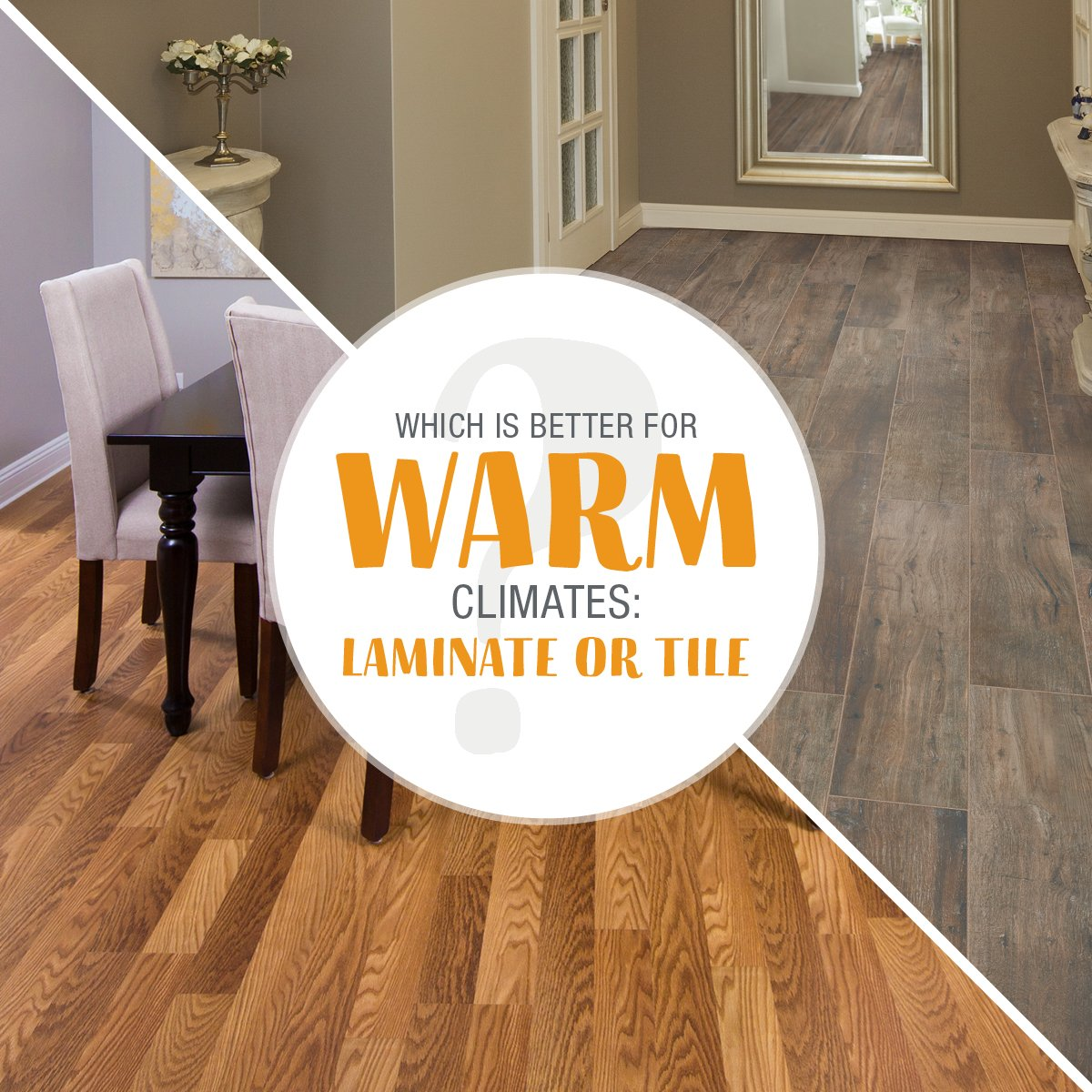 Tell us which flooring you think is better for warm climates.pic.twitter.com/svC3zxYmOF & Empire Today® on Twitter: \