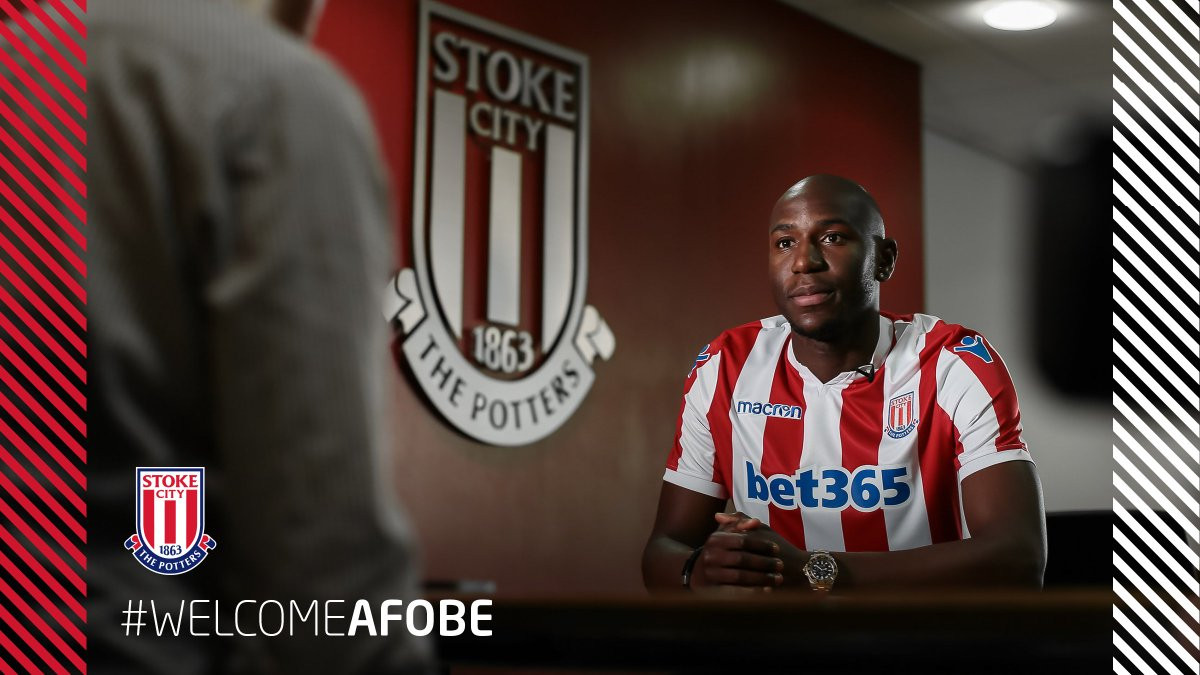 #WelcomeAfobe Who fancies hearing from our latest signing, Benik Afobe? Exclusive interview on its way... #SCFC 🔴⚪️