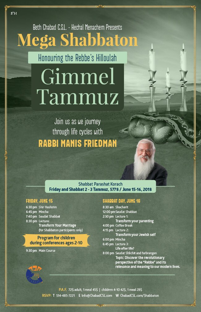 Rabbi Friedman In Kew Gardens Hills: Rabbi Manis Friedman (@ManisFriedman)