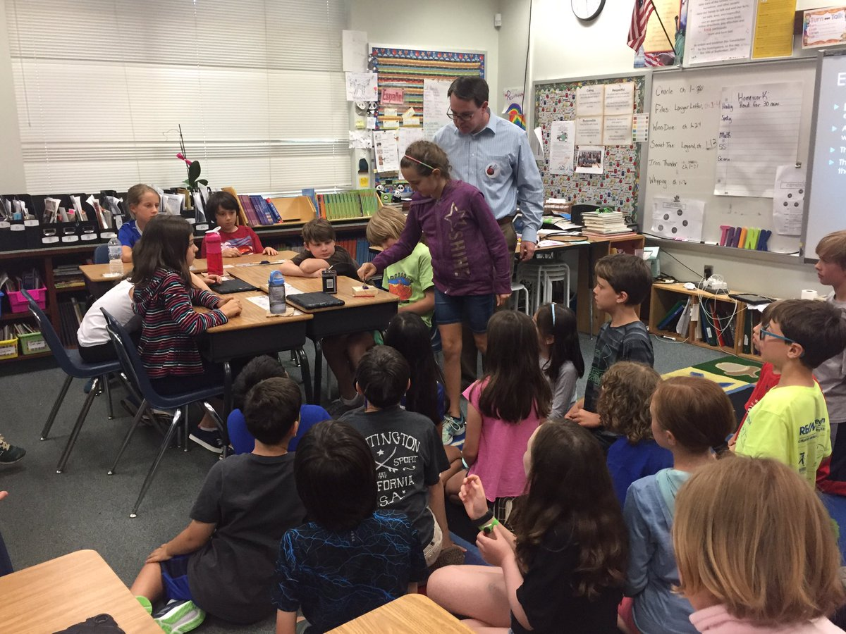 4th graders had a great opportunity today to learn from an electrical engineer. This really helped them connect their study of electricity to a potential career in this field. Thank you, Mr.Roche, for a great presentation! <a target='_blank' href='http://search.twitter.com/search?q=NTMSteam'><a target='_blank' href='https://twitter.com/hashtag/NTMSteam?src=hash'>#NTMSteam</a></a> <a target='_blank' href='http://search.twitter.com/search?q=KnightsRock'><a target='_blank' href='https://twitter.com/hashtag/KnightsRock?src=hash'>#KnightsRock</a></a> <a target='_blank' href='http://twitter.com/APSscience'>@APSscience</a> <a target='_blank' href='http://twitter.com/APS_STEM'>@APS_STEM</a> <a target='_blank' href='https://t.co/PC6P0XXev2'>https://t.co/PC6P0XXev2</a>