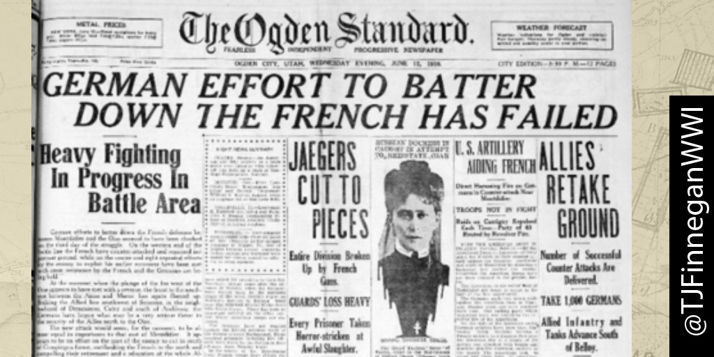 German effort to batter down the French has failed.  http:// ow.ly/U4KL30cjc86  &nbsp;   #wwi #wwi100 #wwidaybyday #ww1<br>http://pic.twitter.com/GBUlYF0M6x