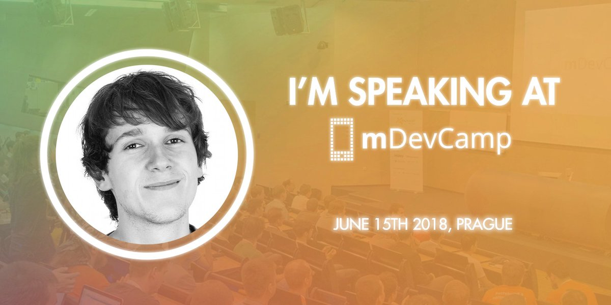 Looking forward to giving a talk this Friday at @mDevCamp in Prague about the differences between @Firebase Realtime Database and Cloud Firestore and which one to use in particular cases 🔥 For tickets, schedule and details: mdevcamp.eu