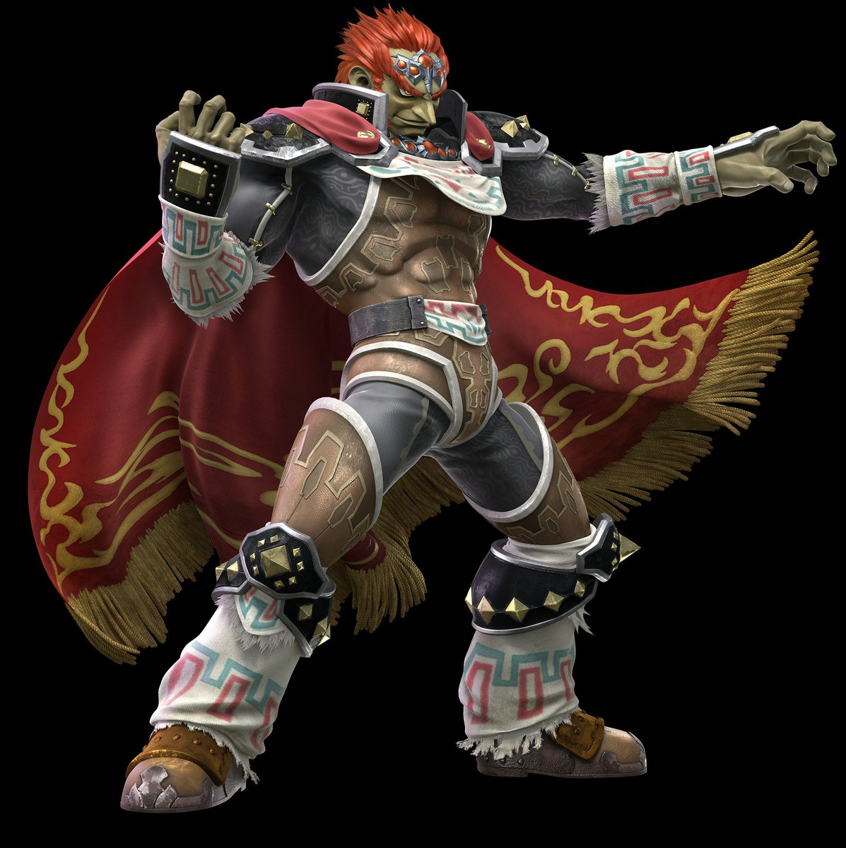 Almojo On Twitter Official Render Of Ganondorf From Super