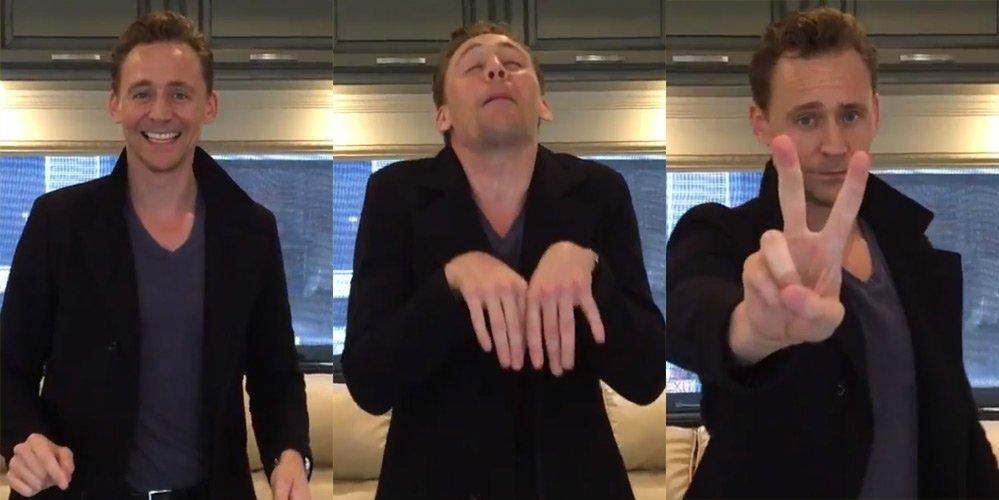 Том хиддлстон смешные фото