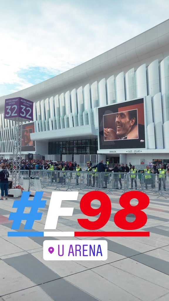 So excited  !!!!! #revival #France98vsFIFA98 #F98 @UArena<br>http://pic.twitter.com/ZUCoByd4u1