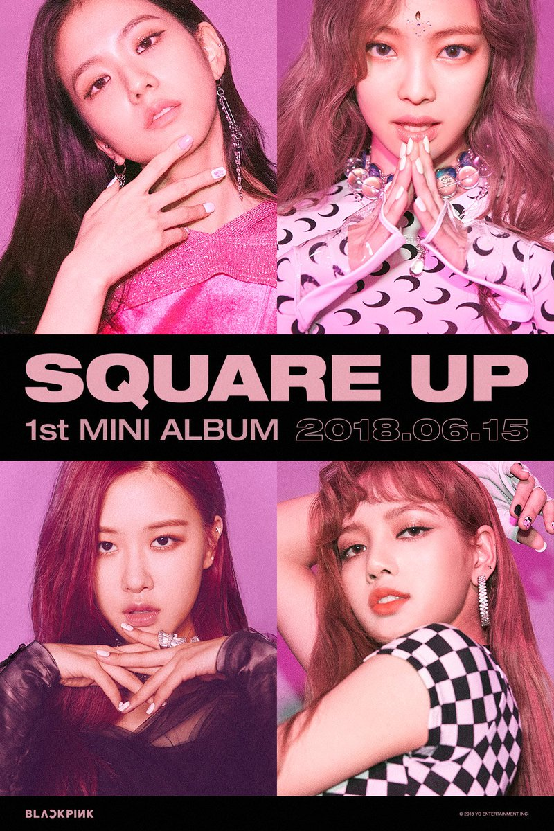 Yg family on twitter blackpink square up teaser poster title yg family on twitter blackpink square up teaser poster title song ddu du ddu du squareup release 20180615 jisoo stopboris Images
