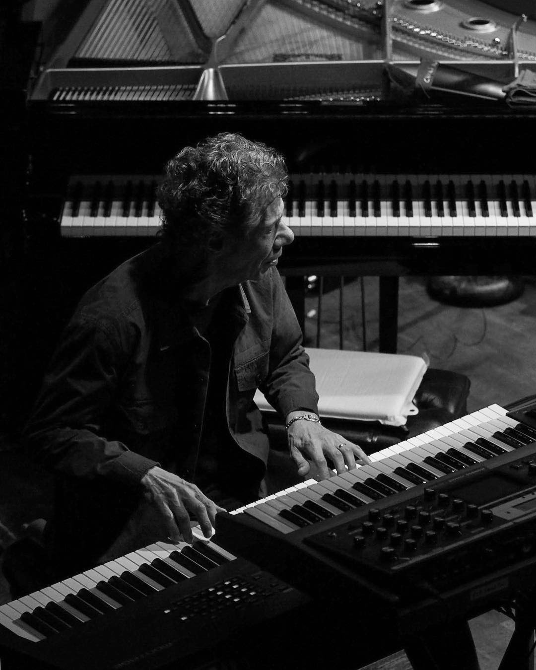 Happy birthday Chick Corea!!! You are the best cool musician I ve ever known!!!