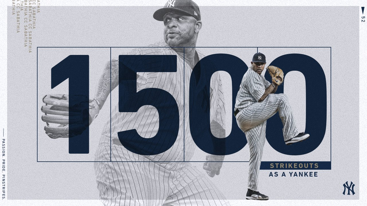 That was a milestone strikeout for the Big Fella. https://t.co/8YN3eTY6je