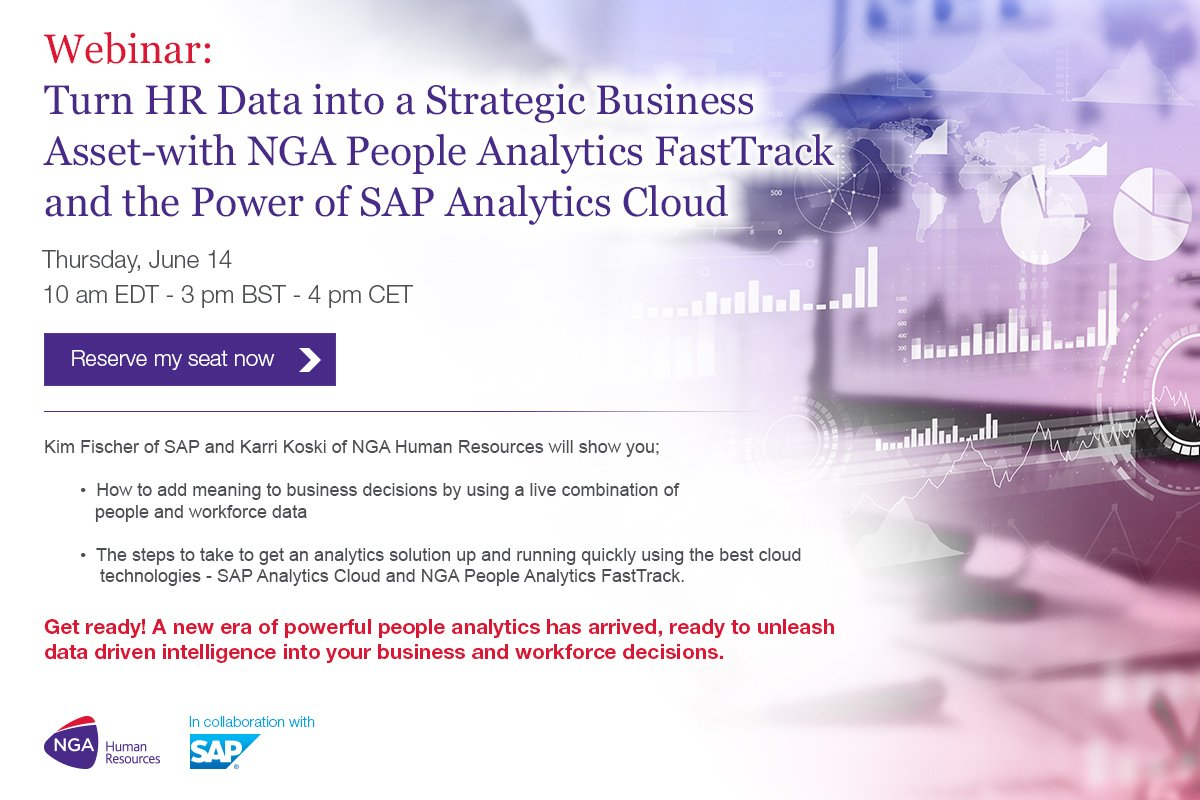 Nga human resources on twitter do you want to make yourself look do you want to make yourself look good make data driven decisions using the data already created in successfactors register today to find out how solutioingenieria Images
