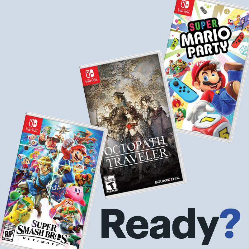 Which game are you going to add to your Nintendo Switch collection? https://t.co/jNsORqQUHt https://t.co/yJpx6Y7Msi