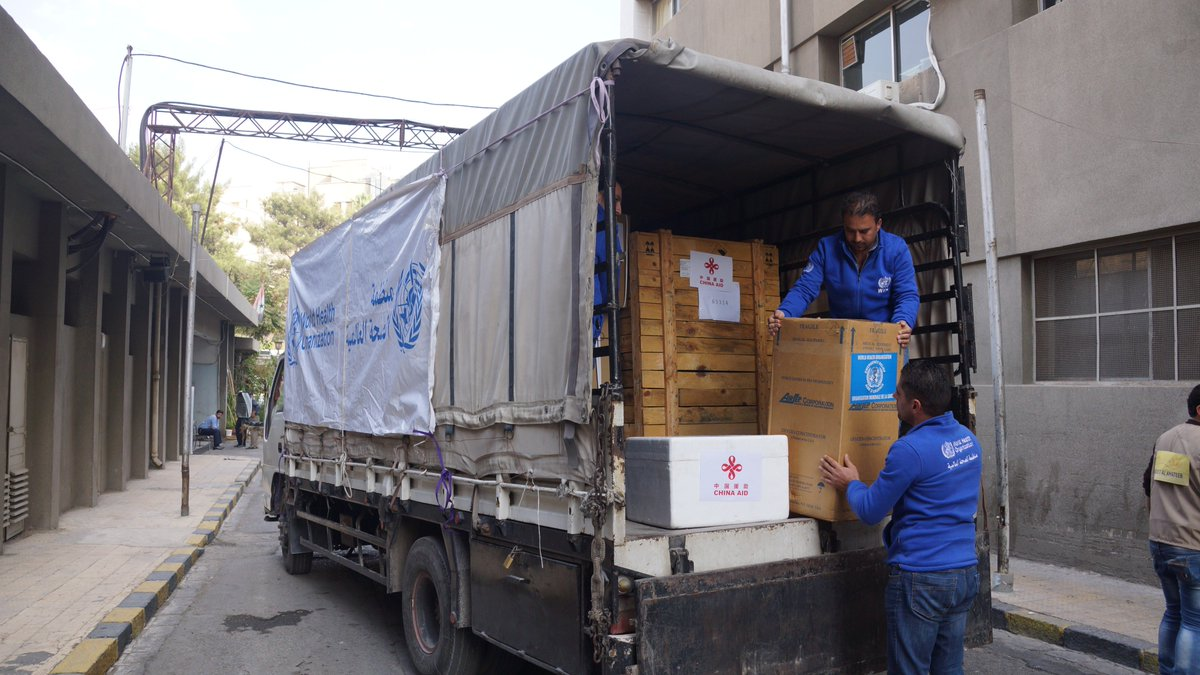 Using a generous contribution from the Government of China, WHO has donated burn management equipment to 8 public hospitals. This equipment will support reconstructive surgery for badly burned patients. This will improve the health outcomes for patients in these hospitals. #Syria