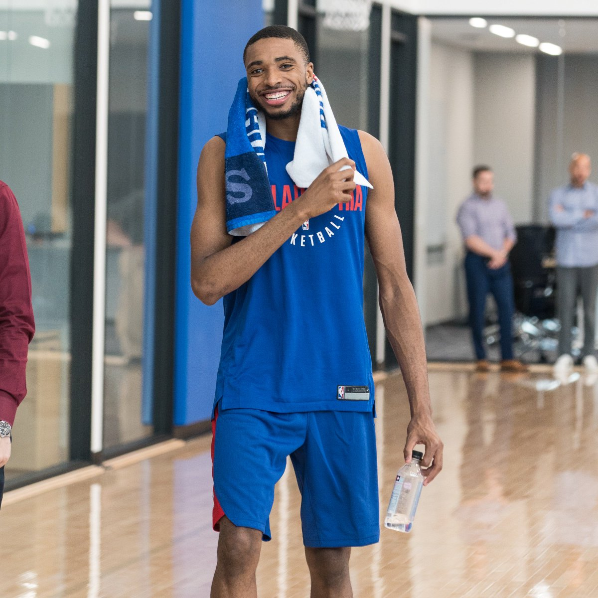 Inside our pre-draft workout with @NovaMBBs @mikal_bridges. 📸 » sixe.rs/mikal | #Summer76