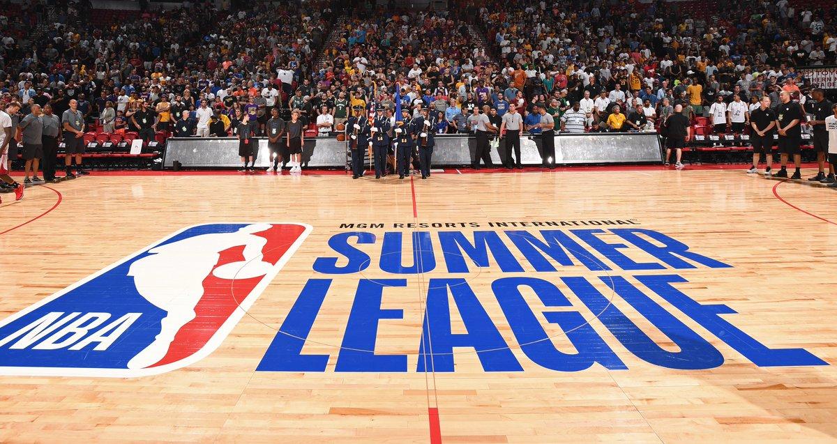 Summer League is upon us. Schedule » on.nba.com/2y68dgv