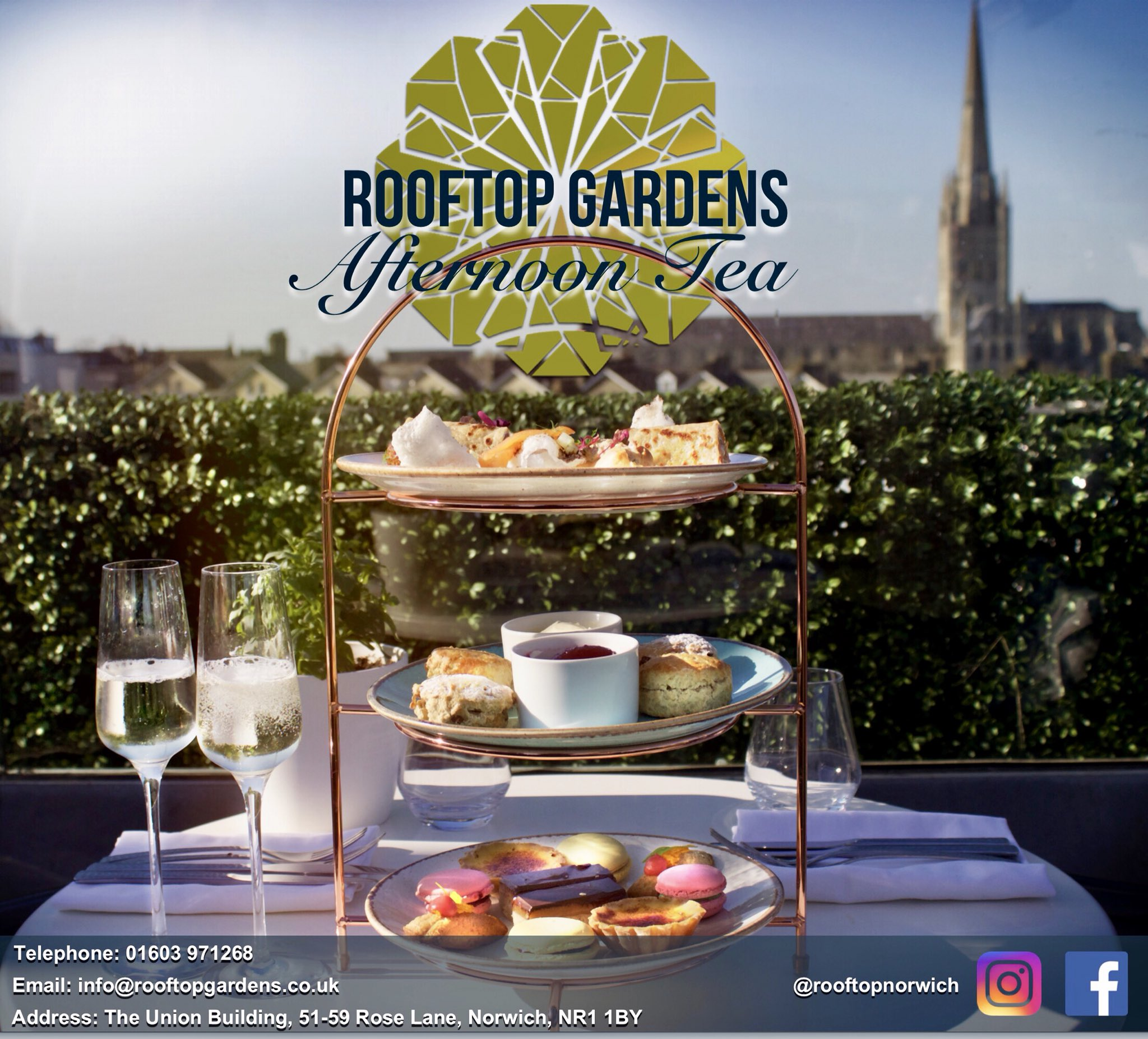 Rooftop Gardens On Twitter Afternoon Tea We Will Be Launching Our Afternoon Tea Next Week To Celebrate We Have A Competition On Our Fb Head Over To Take Part To