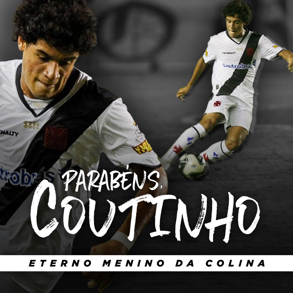 Alô @Phil_Coutinho , aquele abraço!   Parabéns e arrebenta nessa Copa! 💢🇧🇷️  #BaseForte #RaizÉSerVasco