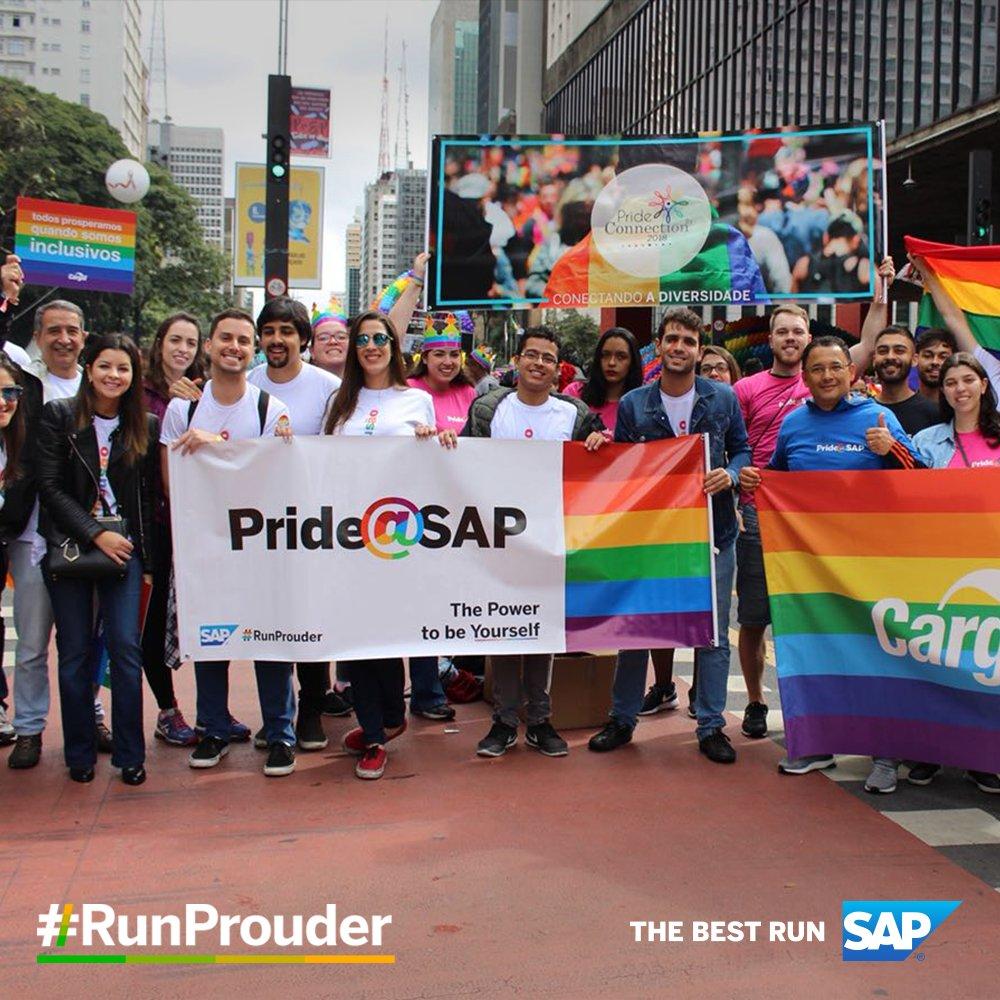 Na Parada #LGBT, líderes SAP se reuniram com outras empresas para apresentar o Pride Connection, um grupo focado em debater a inclusão de profissionais LGBT.