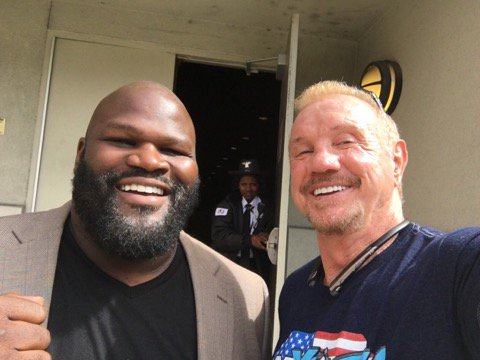 Happy birthday to the world's strongest man and new #WWEHoF inductee @TheMarkHenry