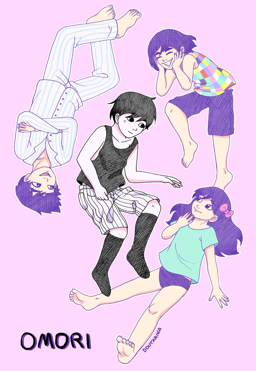 """""""There is no life i know to compare with pure imagination""""🎶 #Omori #fanart #art @_omocat"""