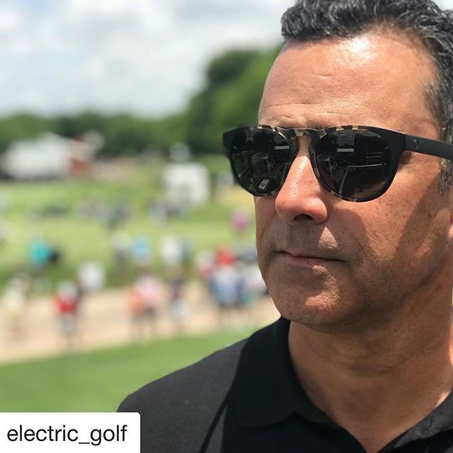 b81be523c38 ... Defending Champ and World No.1    Rocking the Nashville XL - Burnt Tort  • •  electricgolf  thisiselectric  sunglasses  usopen  golf   stylethatperforms ...