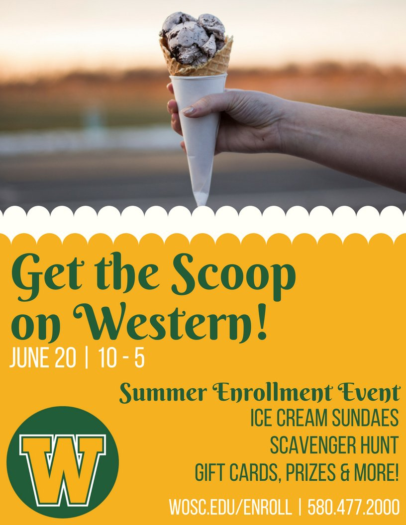 Western Oklahoma State College On Twitter Our Summer Enrollment