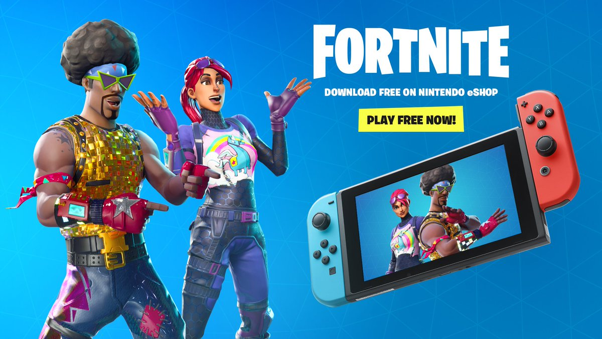 Fortnite On Twitter The Wait Is Over Fortnite On Nintendo Switch