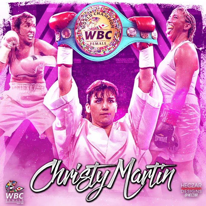 Happy birthday to the one and only, Christy Martin !!!  Congratulations champ !!!